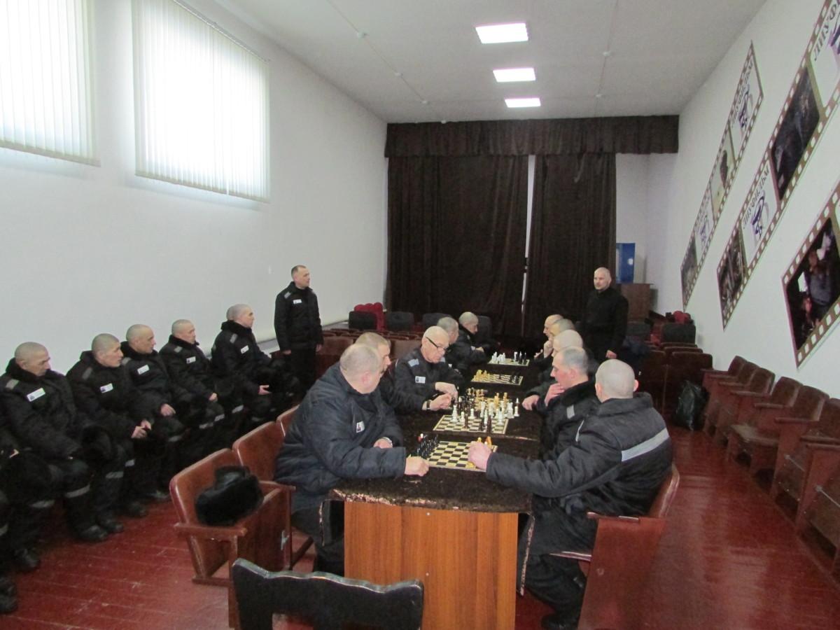 В ФКУ ЛИУ-16 прошел шахматный турнир среди осужденных, посвященный церковному празднику Сретения Господня